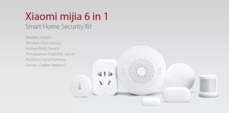 Offerte GearBest - Xiaomi Mijia 6-in-1 Smart Home Security Kit