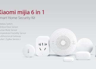 Offerte GearBest - Xiaomi Mijia 6-in-1 Smart Home Security Kit