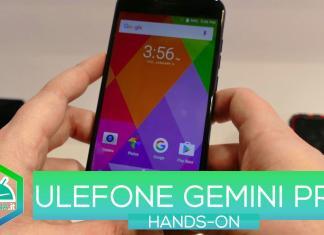 Ulefone Gemini Pro hands-on MWC 2017