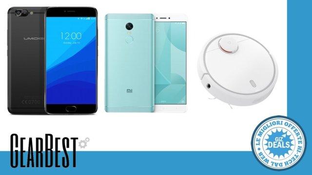 Offerte GearBest - Smartphone Cinesi - Xiaomi Redmi Note 4X - UMIDIGI Z Pro