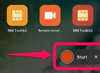 Miui screen recorder Xiomi