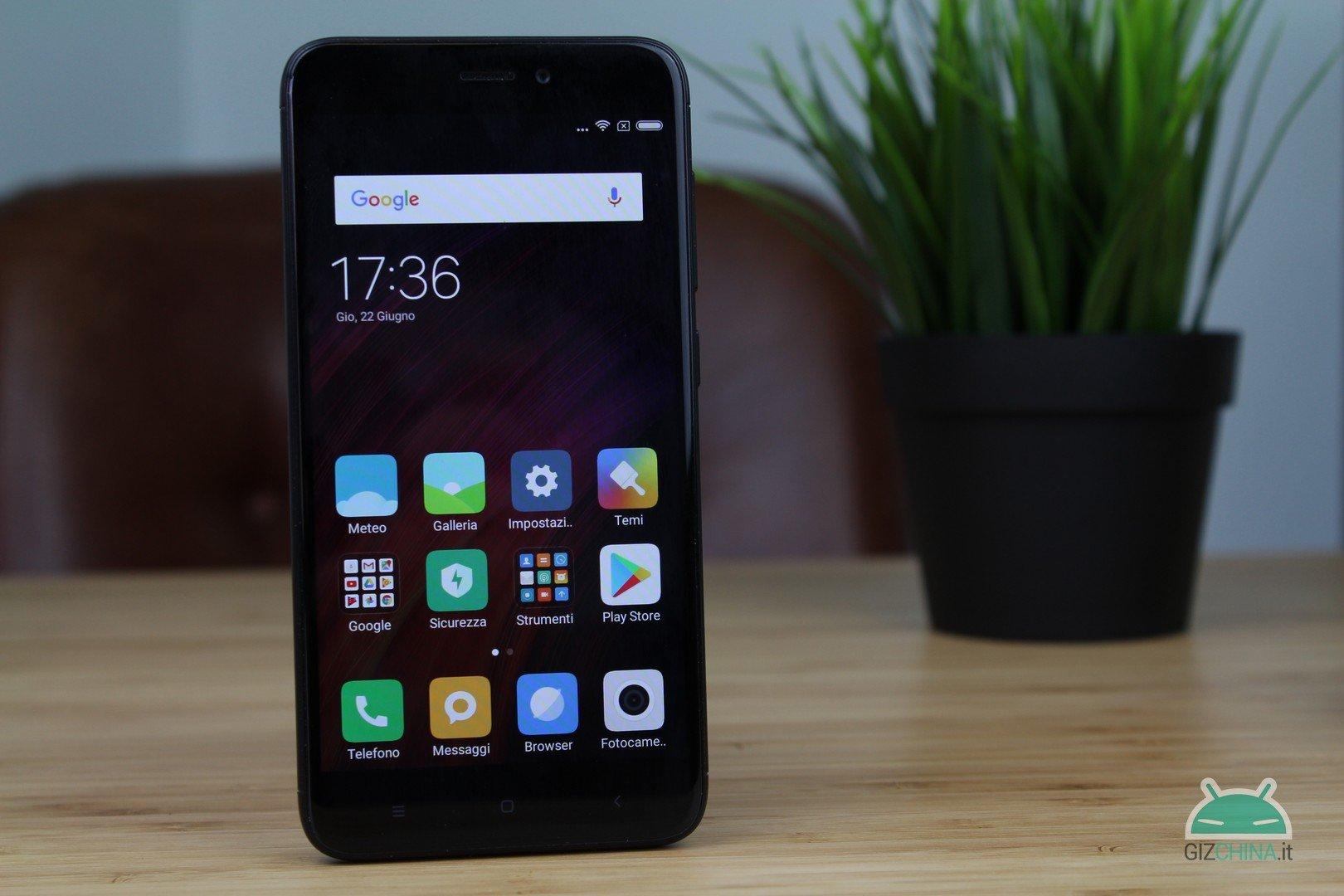 I migliori smartphone sotto i 200 euro - Xiaomi Redmi 4x