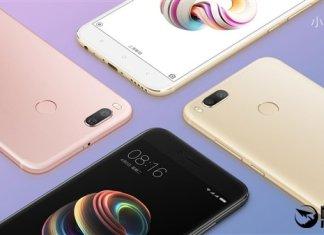 Xiaomi 5X FCC