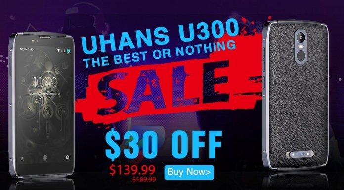 Offerte Geekbuying Uhans U300