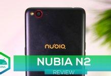 recensione Nubia N2