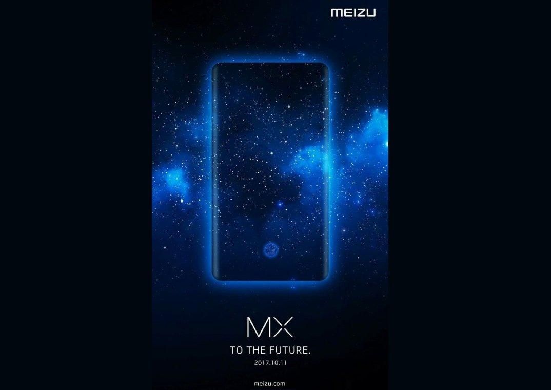 Meizu MX7, lettore impronte digitali integrato nel display e lancio ad ottobre