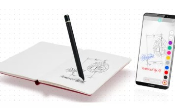 huawei mate 10 pro moleskine smart writing set
