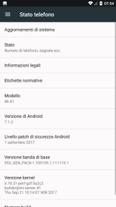 xiaomi mi a1 interfaccia