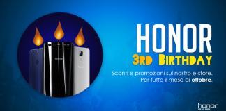 honor-terzo-compleanno-offerte
