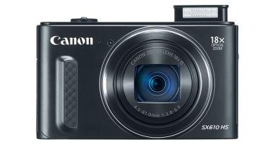 Canon PowerShot SX610 Unveiled [CES 2015]