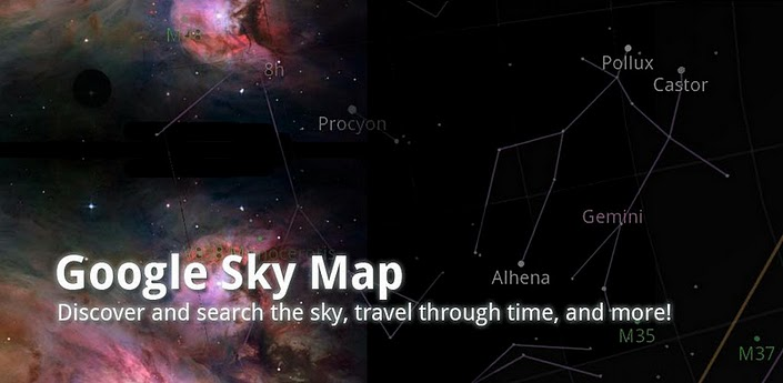 Google Sky Map Is the Augmented Reality app for Android