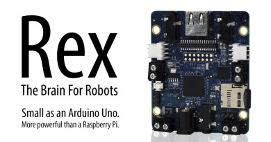 Alphalem's ARM-Powered Rex Is A Robot Controller Board