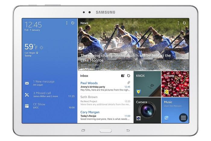 Samsung Galaxy TabPro Officially Announced [CES 2014]