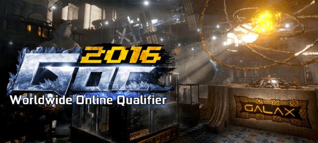 GALAX Announces The GOC Worldwide Online Qualifier 2016