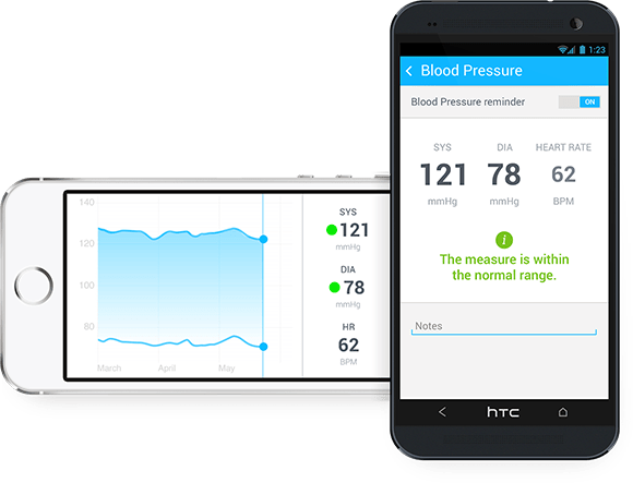 Withings Wireless Blood Pressure Monitor For Android And iOS [CES 2014]