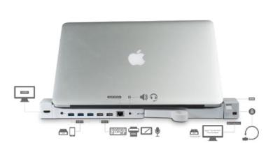 LandingZone Dock Announced For the Macbook Pro With Retina Display [CES 2014]