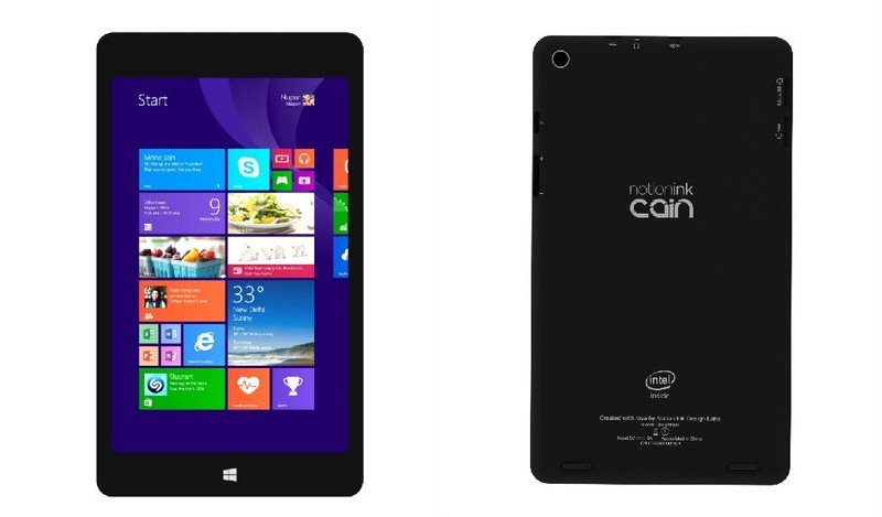 Notion Ink Cain 8 Windows 8.1 and Intel Powered Tablet Launched For Rs. 9990