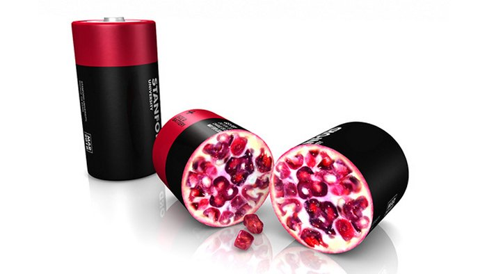 Pomegranates Could Allow Battery Last 10x Longer