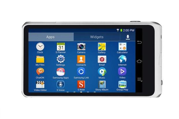 Samsung Galaxy Camera 2 Android Look