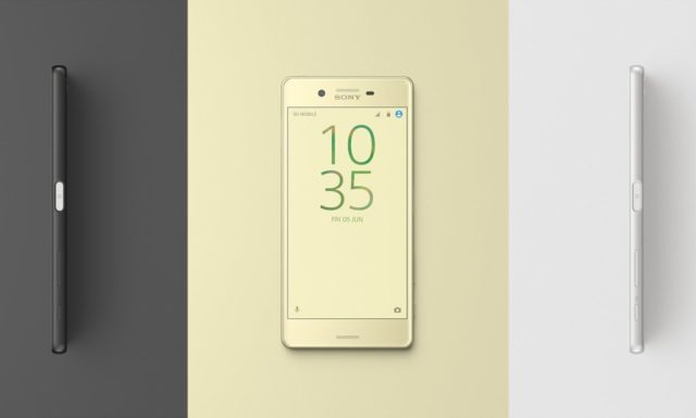 Sony Xperia X Launched in Europe