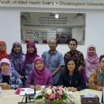 Kunjungan kerja ke Department of Dietetic and Nutrition Faculty of Allied Health science, Chulalongkorn University