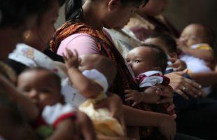 ASI mendorong bakteri menciptakan lapisan pelindung Buat Bayi