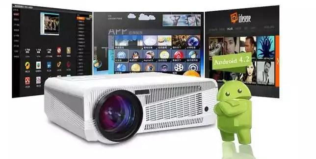 Vidéo projecteur LED -86+ : un vidéo projecteur Android et pas cher fait pour vous
