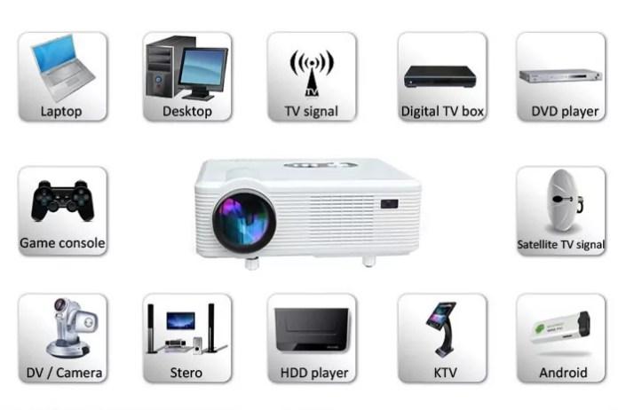 Excelvan CL720D : le projecteur pour tous