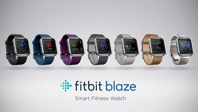 Fitbit Blaze, une nouvelle smartwatch sur le marché