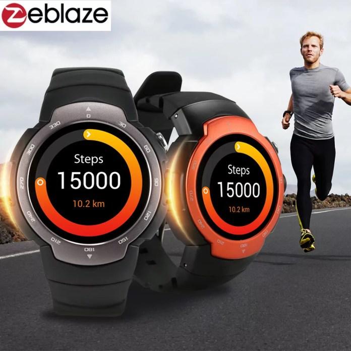 Zeblaze Blitz 3G Smartwatch : un look et des fonctions pros