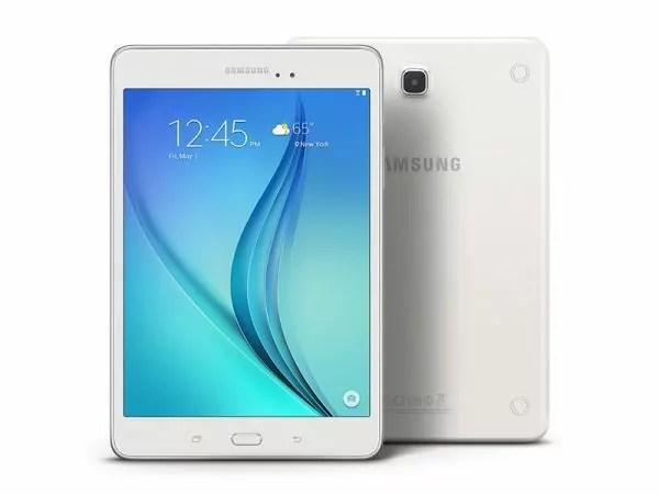 Samsung Galaxy Tab 8.0 : les caractérisitiques