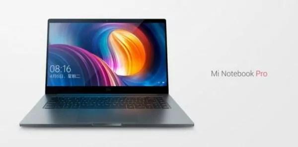 Xiaomi Mi Notebook Pro : Sobre et puissant