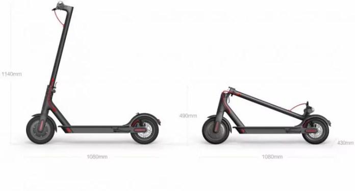 30Km d'autonomie avec le scooter Xiaomi M365