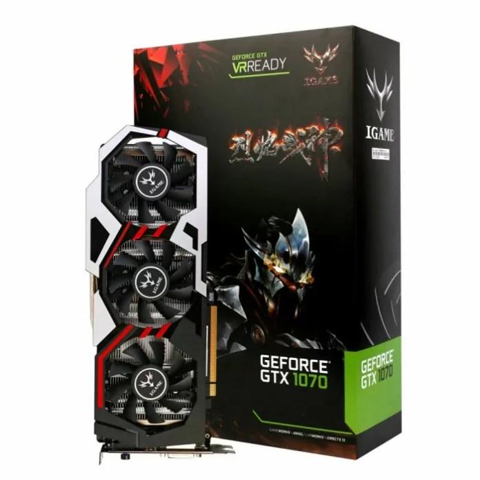 Que vaut la Colorful NVIDIA GeForce GTX iGame 1070 ?