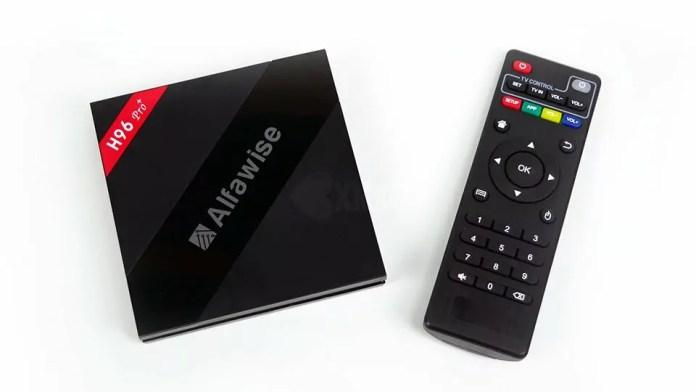 Alfawise H96 Pro+ : Regardez tous les formats vidéos