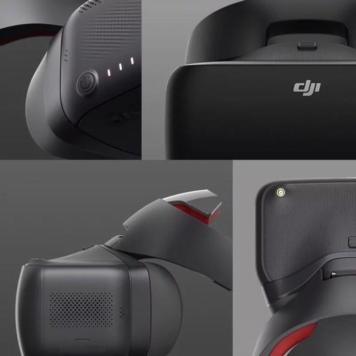 Lunettes 3D DJI VR pour votre drône
