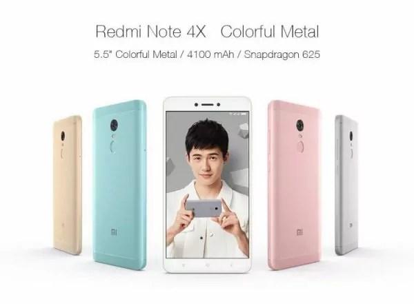 Xiaomi Redmi Note 4X : Un haut de gamme pas cher