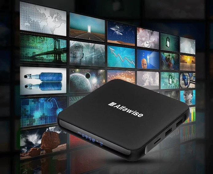 Alfawise S95 TV Box : Toutes les châines pour le prix d'un mois d'abonnement