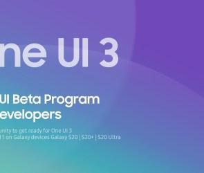 Samsung One UI 3 Public Beta