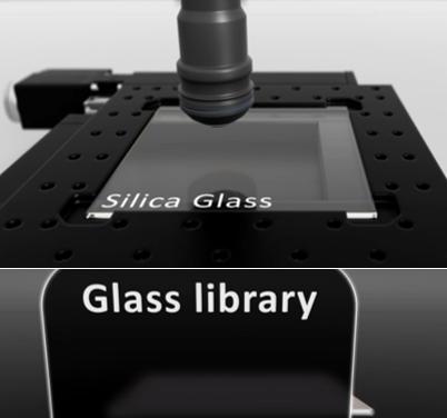 Glass reader