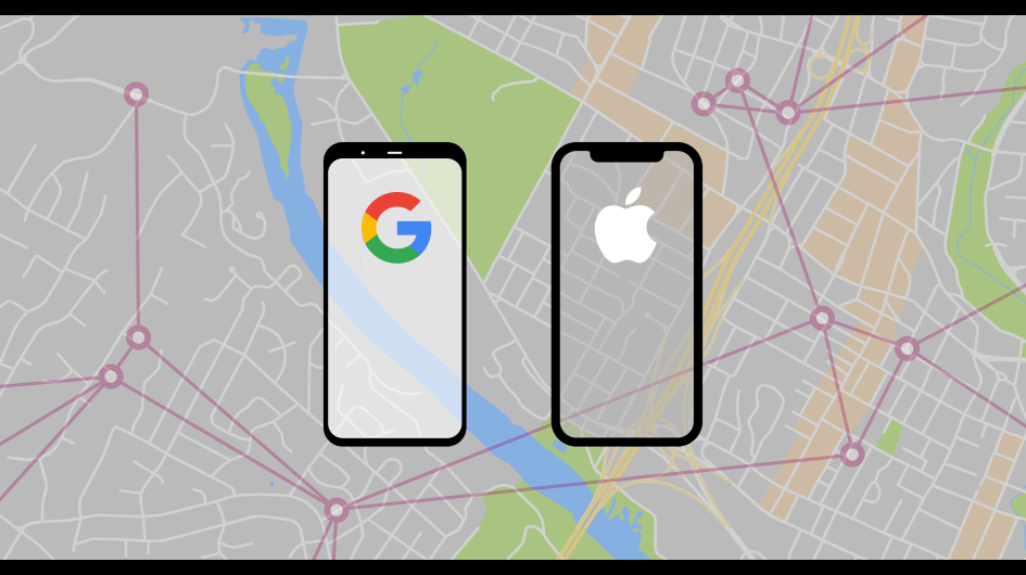 Apple and Google Exposure Tracking API