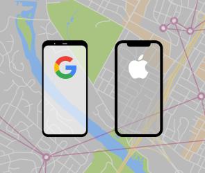 Apple and Google Exposure Tracking API