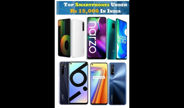 Best Smartphone Under Rs 15000 in India