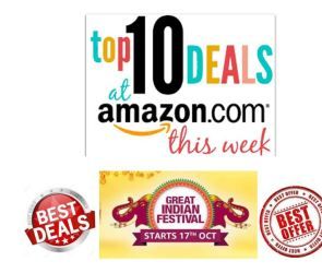 Check out these crazy offers: Amazon Great Indian Festival 2020