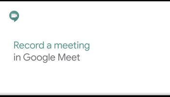 How to Record Google Meet