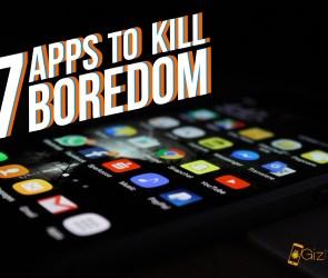 Apps to kill boredom