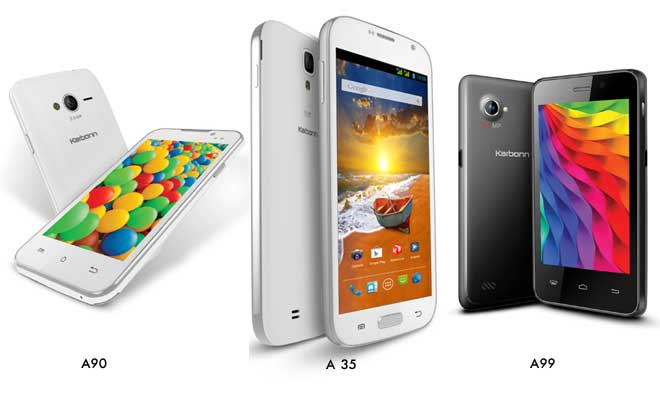 karbonn new phones
