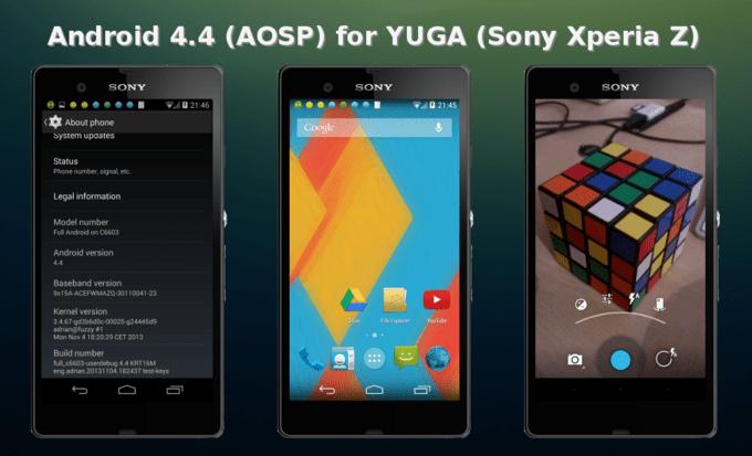 Xperia Z Android KitKat 4.4