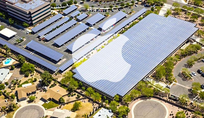 apple solar panel