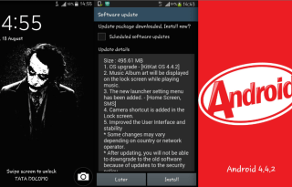 Note 3 Neo Android KitKat